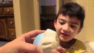 Abominable Snow Man Lush Bath Bomb