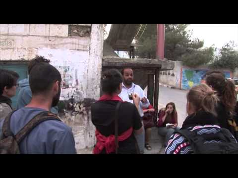 European journalists and media activists explore the occupied West Bank