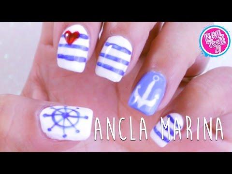 ANCLA Marina Nail Art