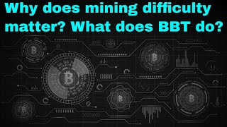 How does cryptocurrency mining difficulty work and why should you care as a miner?