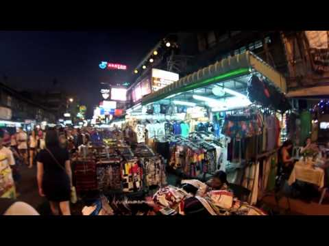 Thailand 2013: Kao San Road – Walk with me from end to end