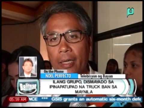 Balitaan: Ilang grupo, dismayado sa ipinapatupad na 'truck ban' sa Manila [02/27/14]