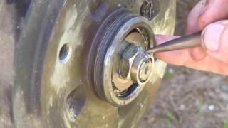 Ford Festiva Wheel bearings Part One