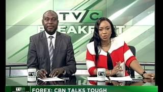 Forex : CBN talks tough