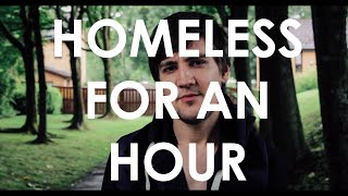 How much money do homeless people make in an hour?