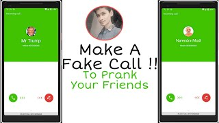 How to make fake call for prank your friends