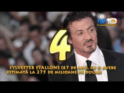 Top 10 cei mai bogati actori din lume