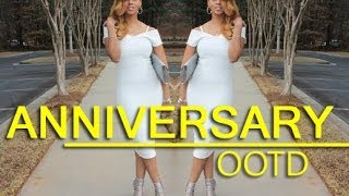 WEDDING ANNIVERSARY DATE OUTFIT 2014 | DATE NIGHT OOTN | CHINACANDYCOUTURE