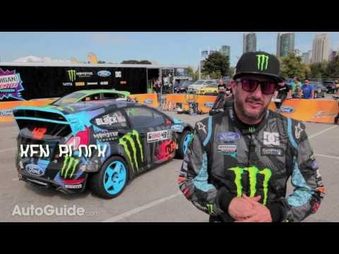 Ken Block Shares His Five Favorite Things About the 2014 Ford Fiesta ST