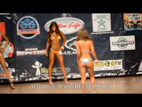 Campeonato Nacional de Fisicoculturismo Peruano -- Miss 2014 - 23/03/2014