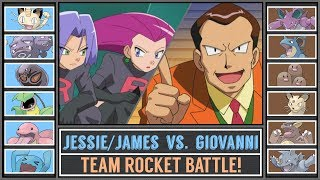 Jessie&James vs. Giovanni (Pokémon Sun/Moon) - Team Rocket Battle