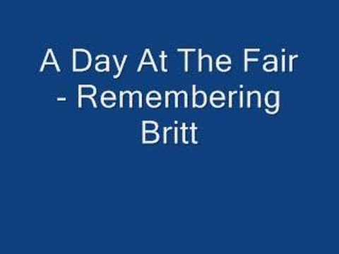 A Day At The Fair - Remembering Britt