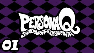 01 Persona Q: Shadow of the Labirynth - Intro