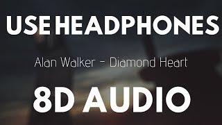 Alan Walker - Diamond Heart (8D AUDIO)   8D UNITY