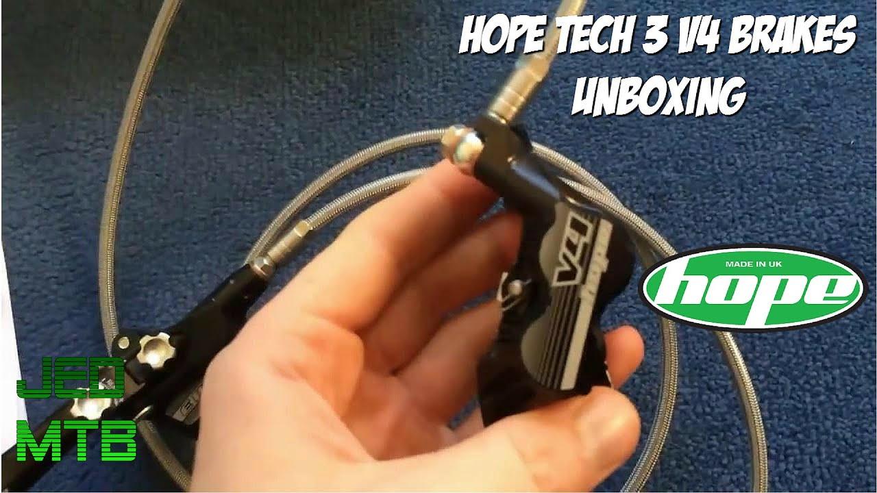 Hope Tech 3 e4 vs v4 Hope Tech 3 v4 Brakes
