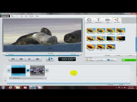 Magix Video Easy HD Review 2012 Tutorial & Tricks - Video Editing Software