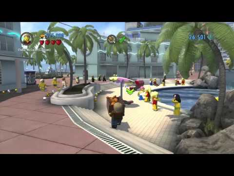 LEGO City Undercover Gameplay Walkthrough Part 14 - NINJA THIEF!! (Wii U HD)