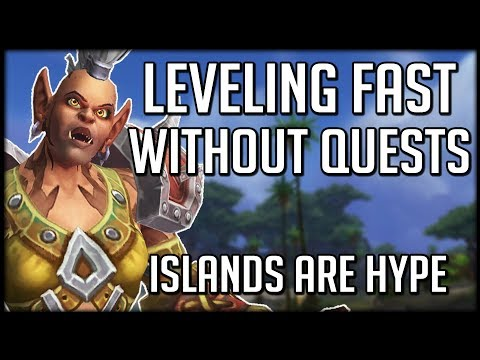 Level Up 110-120 Fast Without Questing - Perfect for Alts   WoW Battle for Azeroth