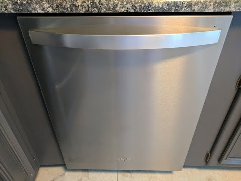 Whirlpool Dishwasher with Third Level Rack