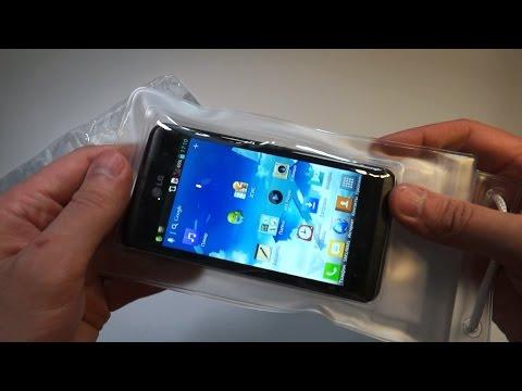 Водонепроницаемый чехол на телефон своими руками