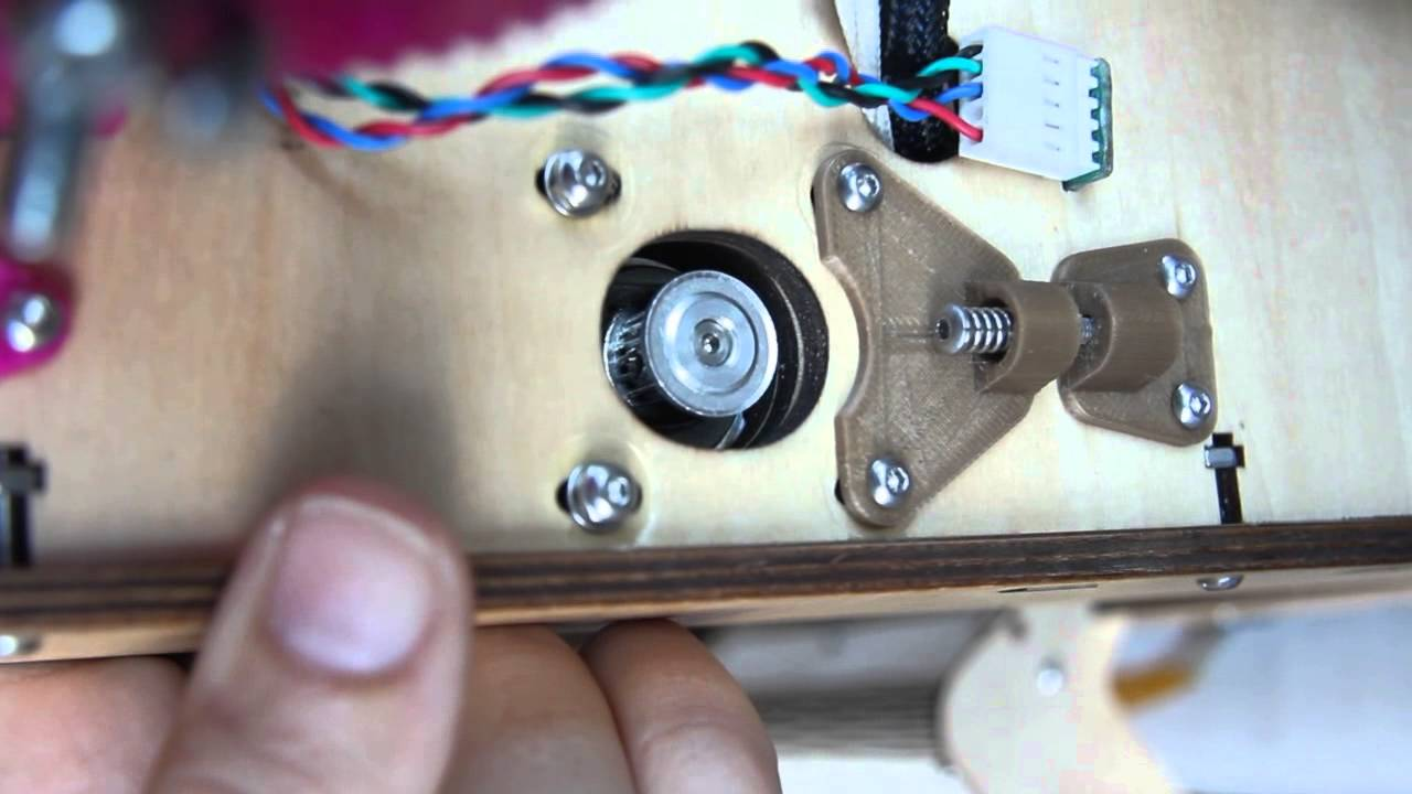 3d Printer Belt Tension Spring-loaded 3d Printer Belt
