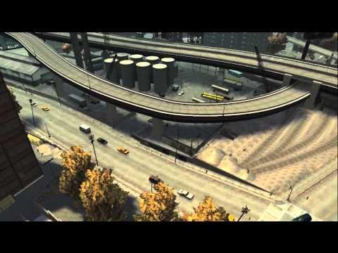 Grand Theft Auto 4 - Extreme Hardcore Stunt Montage 2 (HD)