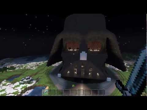 Minecraft: Star Wars Darth Vader Helmet HOUSE