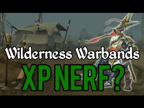 Runescape – Wildy Warbands: Too much XP?