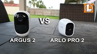 Arlo Pro 2 vs Reolink Argus 2 - Comparison Of Their Features, Video Quality Daytime and at Night