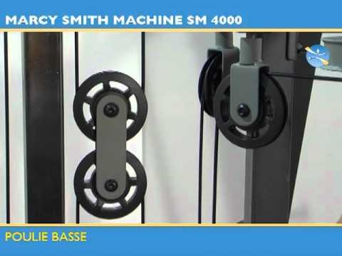 banc de musclation sm 4000 tool fitness youtube. Black Bedroom Furniture Sets. Home Design Ideas