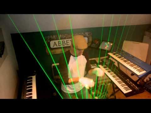 Canon Rock Laser Harp V Guitar video