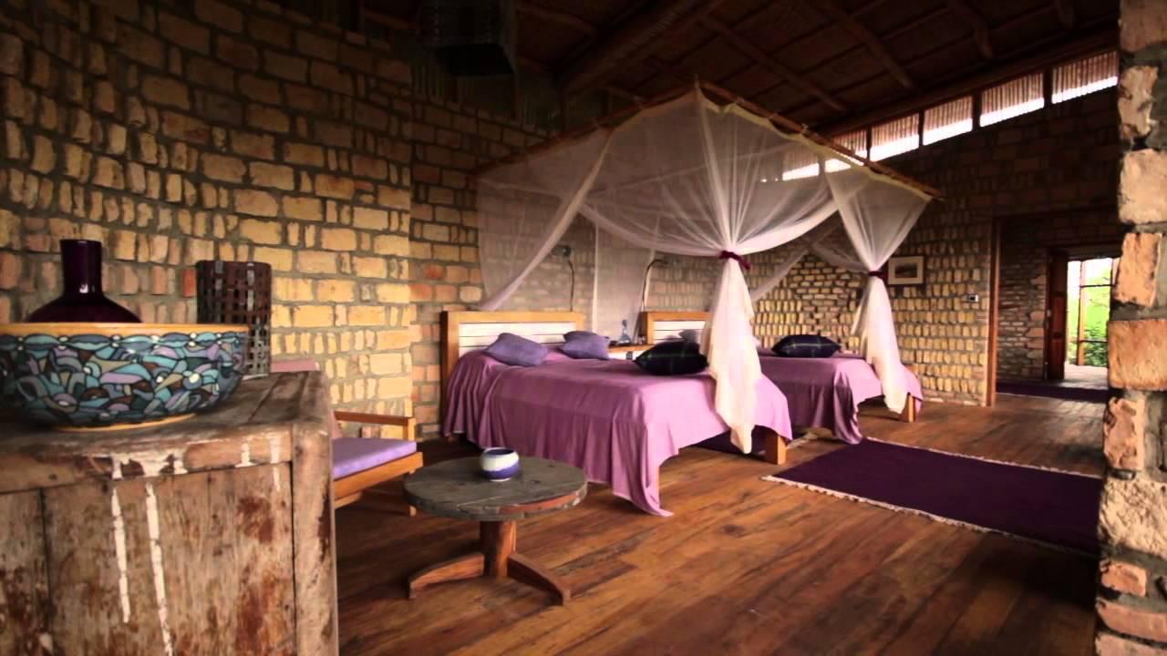 Safari Lodge Uganda, Luxury Safari Lodge Uganda - Volcanoes Kyambura Gorge Lodge
