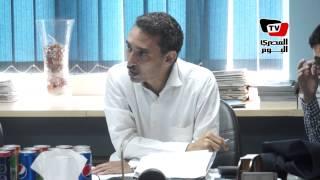 وفد من اتحاد المحررين الدوليين يزور مقر جريدة «المصرى اليوم»