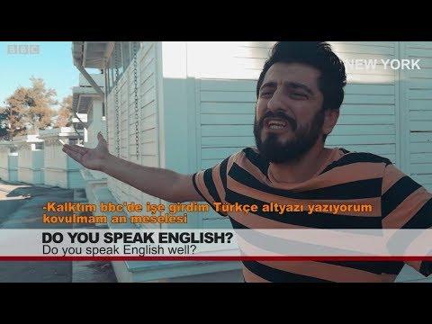 New York'ta Kıraathane Basan Adanalının İngilizce ile İmtihanı - Röportaj Adam