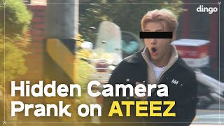 Hidden Camera Pranks on KPOP Idols (ft. ATEEZ) • ENG SUB • dingo kdrama