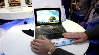 ASUS Transformer Pad Infinity TF700T Hands On - COMPUTEX 2012