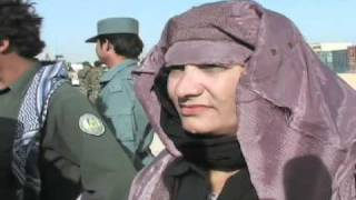 Afghan Female Police Woman