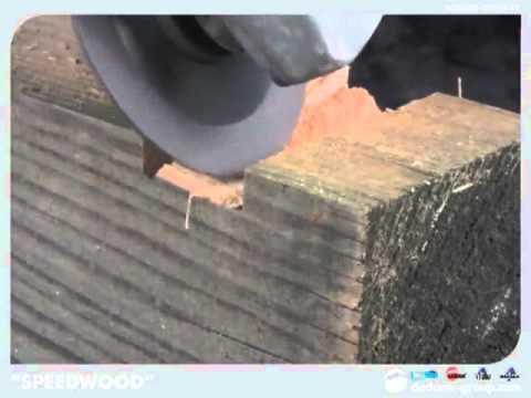 Disco de corte para madera para amoladora