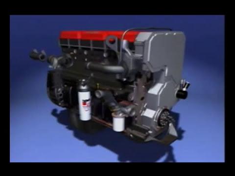 Armado de motor ISX