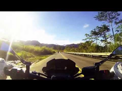Weekend ride along the Crocker Range, Sabah.