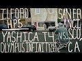 Yashica T4 vs. Olympus Infinity Hi Lite (San Francisco, CA)