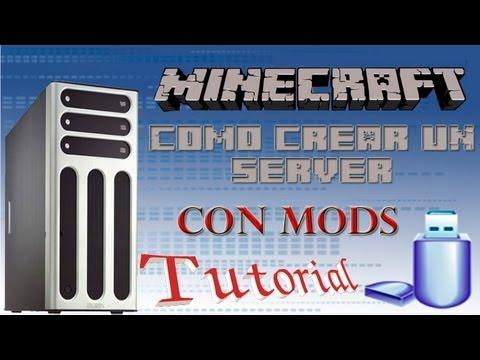 Tutorial como crear un Server con Mods y como instalar mods en tu Minecraft 1.5.2
