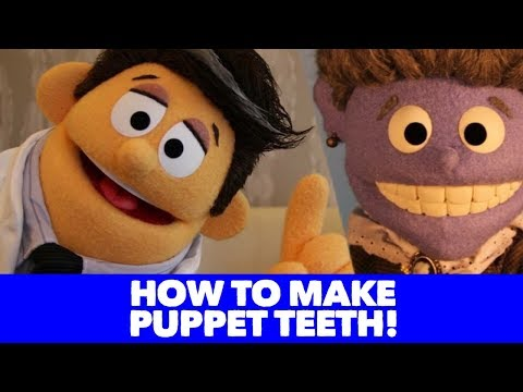 How to Make Teeth for your Puppet!