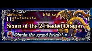 [FFBE] Scorn of the 2-Headed Dragon in 7 TURNS! ALL MISSIONS!