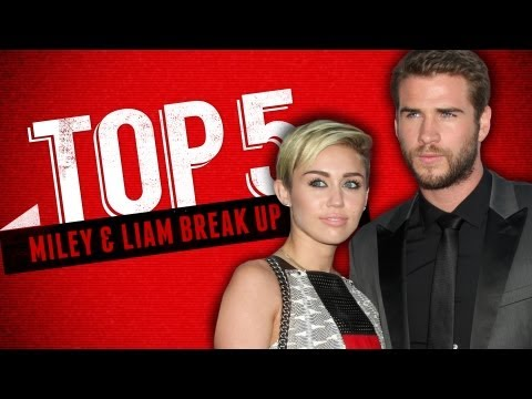 Top Reasons For Miley Cyrus & Liam Hemsworth's Break Up - Top 5 Fridays