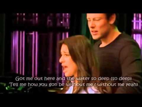 Glee - No Air (Full Performance with Lyrics)