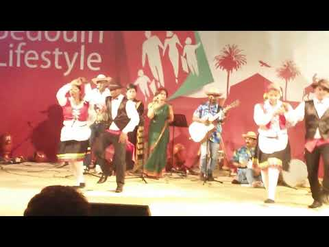 Goan Folk Dance At Dubai Shopping Festival 2014 video