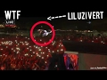 LIL UZI VERT Dives Into Crowd Off 50 Ft Stage !!