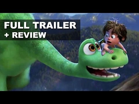 The Good Dinosaur Official Trailer + Trailer Review : Beyond The Trailer