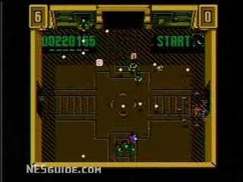 Smash TV - NES Gameplay